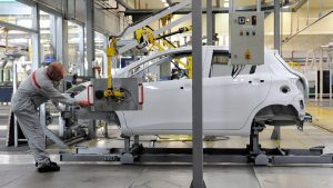 The Toyota plant in Onnaing, near Valenciennes.  For 84% of the bosses of foreign companies established in France surveyed by Ipsos, France is an attractive country.