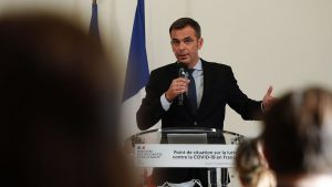 The Minister of Health, Olivier Véran, holds a weekly update on the fight against the coronavirus.