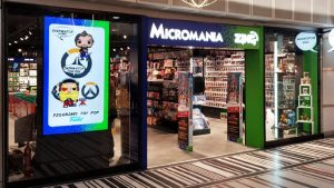 Micromania is the French subsidiary of GameStop, whose price soared 685% this year.